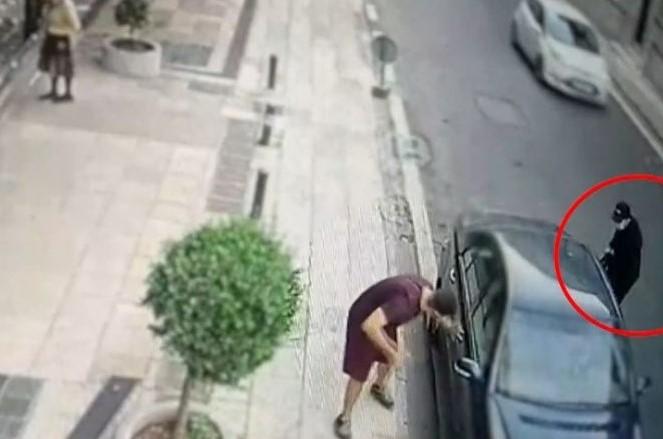 Καρέ καρέ η δράση συμμορίας που κλέβει τσάντες από αυτοκίνητα – Δείτε το κόλπο των κακοποιών – ΒΙΝΤΕΟ