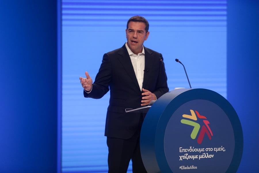 Τσίπρας στον ΣΕΒ: Χρειάζεται νέα οικονομική πολιτική για μείωση ανισοτήτων, περιβάλλον και δίκαιη ανάπτυξη – ΒΙΝΤΕΟ