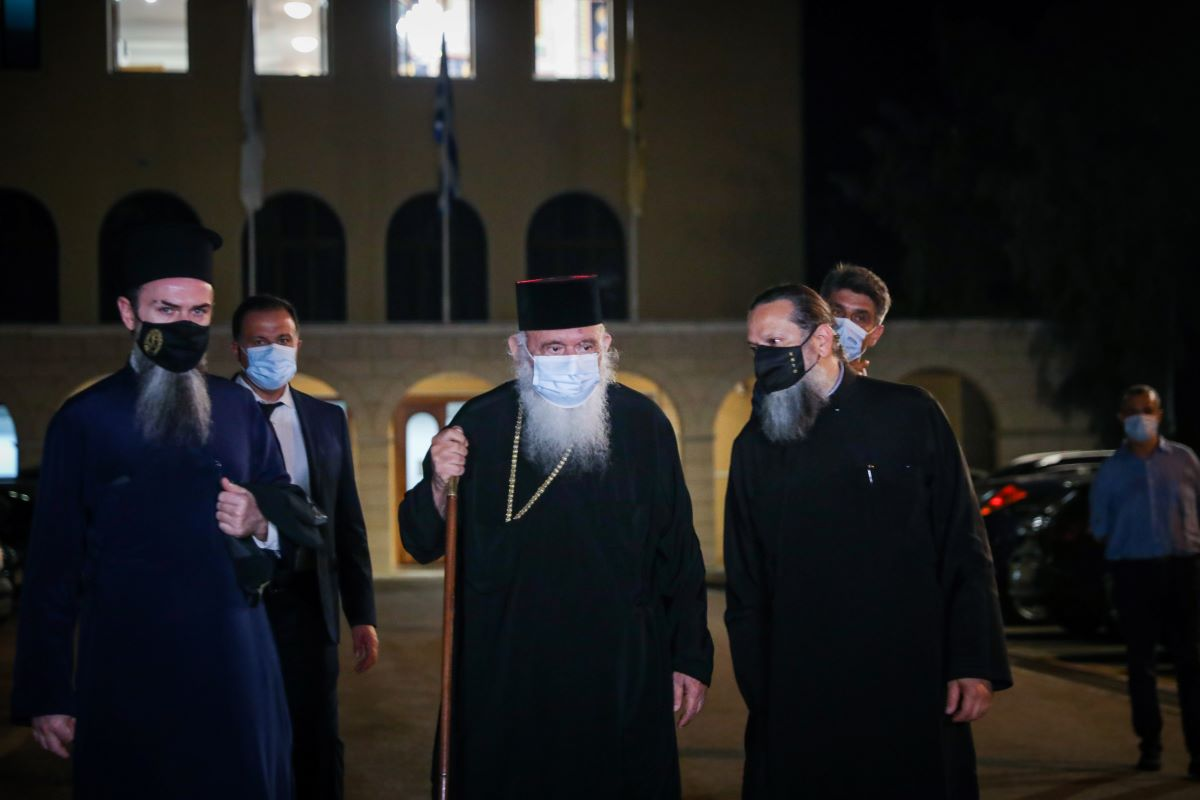 Μονή Πετράκη-βιτριόλι: Πρωτόγνωρα φαινόμενα βίας λέει ο αρχιεπίσκοπος