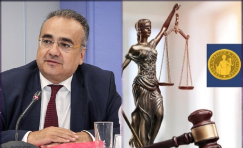"""Απάντηση Δημ. Βερβεσού στην Ένωση Δικαστών Εισαγγελέων: """"Η υπεράσπιση των λίγων που καθυστερούν τις δικαστικές αποφάσεις πλήττει τους πολλούς"""""""