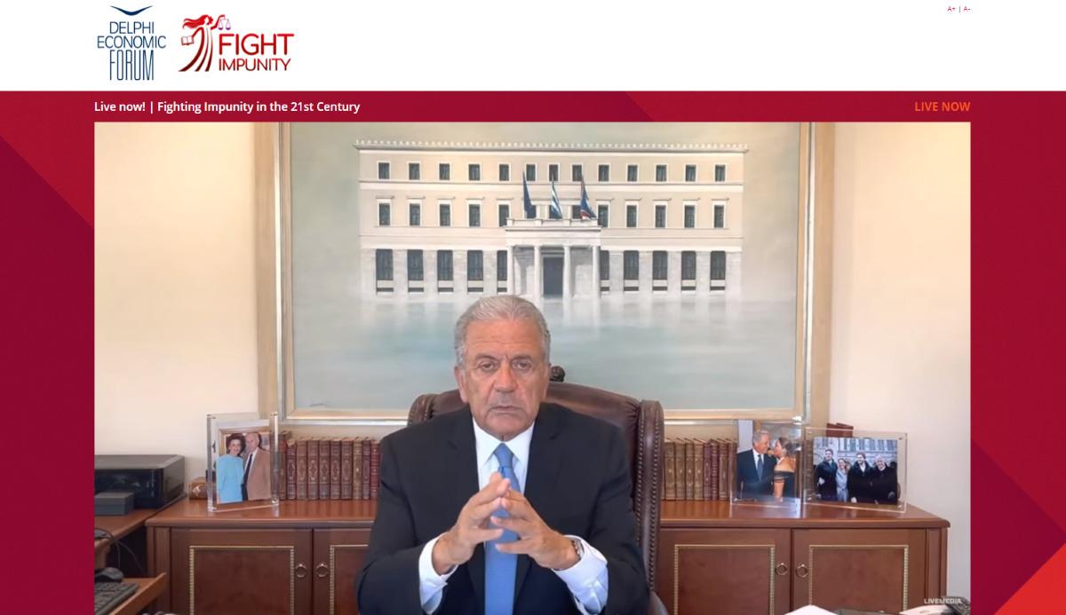 Οικονομικό Φόρουμ Δελφών καιFightImpunity:Συζήτηση για τη Δικαιοσύνη
