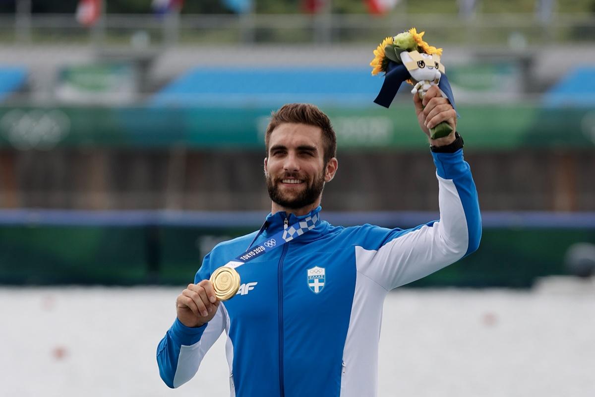 Στέφανος Ντούσκος: Ο χρυσός Ολυμπιονίκης μιλά για την επιτυχία του – «Έκανα κάτι εξωπραγματικό» – ΒΙΝΤΕΟ