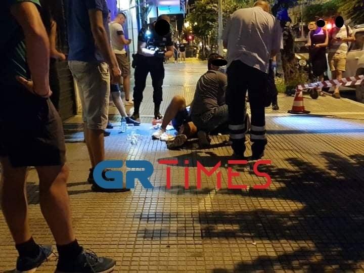 Τρόμος στη Θεσσαλονίκη: Πυροβολισμοί στην Ερμού – Ένας τραυματίας – ΒΙΝΤΕΟ – ΦΩΤΟ