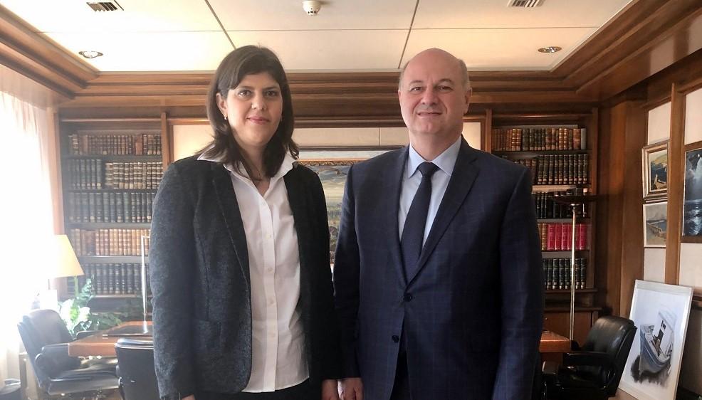 """""""Επιχείρηση κατευνασμού"""": Στην Αθήνα σήμερα η Ευρωπαία Εισαγγελέας – Συναντάται με τον Υπουργό Δικαιοσύνης και την ηγεσία του Αρείου Πάγου"""