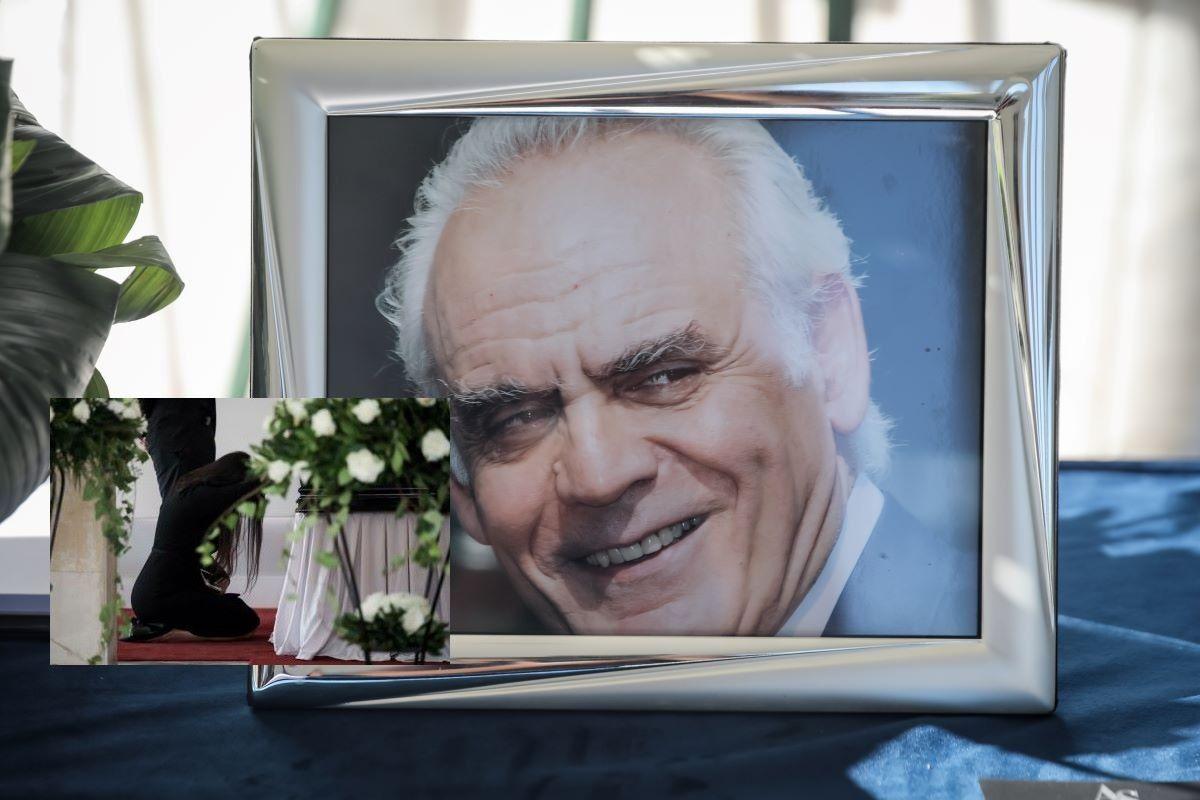 """Κηδεία Άκη Τσοχατζόπουλου: Λύγισε η Σταμάτη μπροστά στο φέρετρο – Ηχηρές απουσίες πολιτικών """"φίλων"""" – ΒΙΝΤΕΟ – ΦΩΤΟ"""