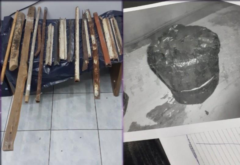 """Έκτακτη έρευνα στις φυλακές Κορυδαλλού το βράδυ του Σαββάτου: Δείτε τα """"φονικά"""" ευρήματα – ΦΩΤΟ"""