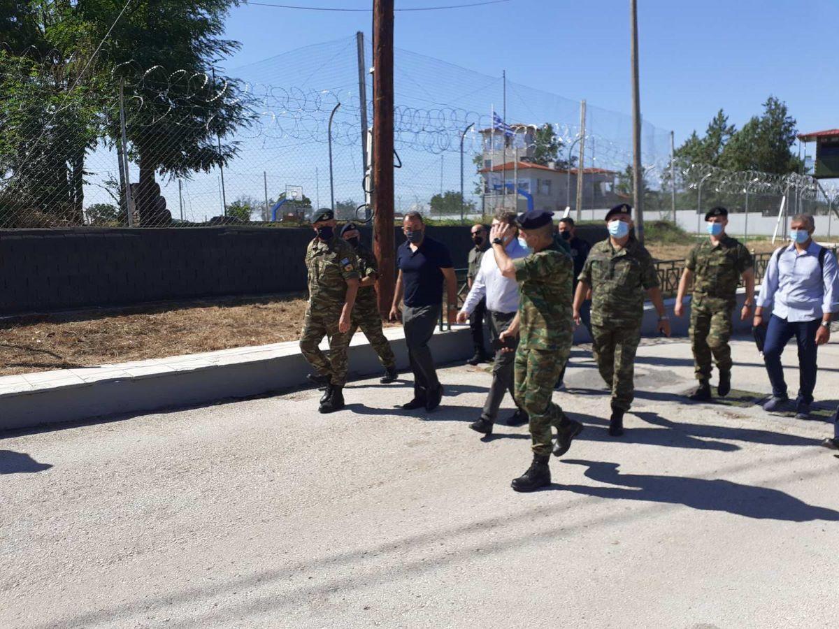 Χρυσοχοΐδης – Παναγιωτόπουλος από Έβρο: Τα σύνορά μας θα παραμείνουν ασφαλή και απαραβίαστα – ΒΙΝΤΕΟ