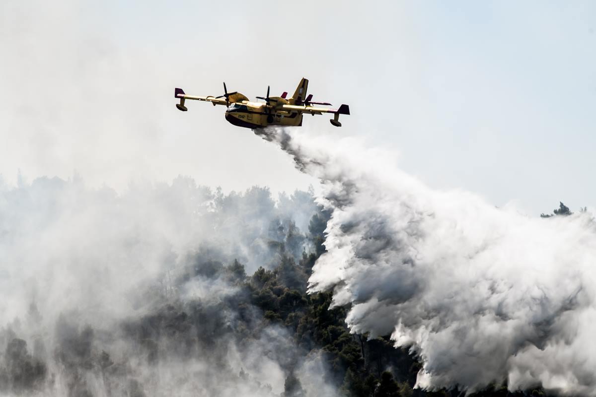 Φωτιά στην Πάρνηθα – Συναγερμός στην Πυροσβεστική