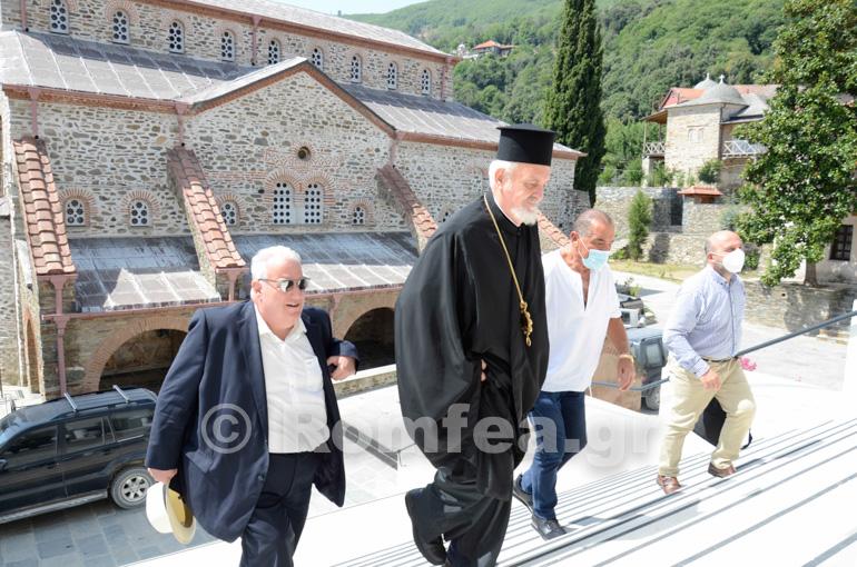 Έφθασε στο Άγιον Όρος ο Χαλκηδόνος Εμμανουήλ – ΦΩΤΟ