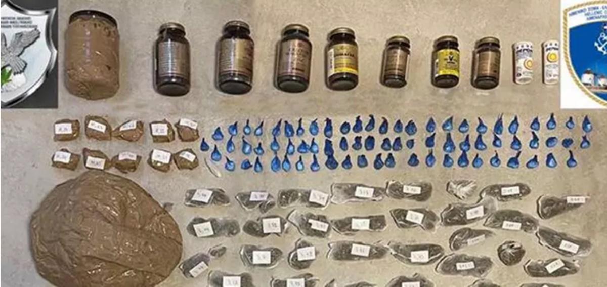 Μύκονος: Σύλληψη μέλους κυκλώματος που διακινούσε μεγάλες ποσότητες ναρκωτικών
