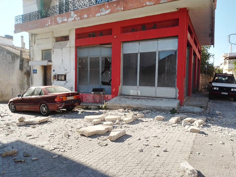 Σεισμός 5,8 Ρίχτερ στην Κρήτη: Ένας νεκρός – Ισχυροί μετασεισμοί στο νησί – ΦΩΤΟ