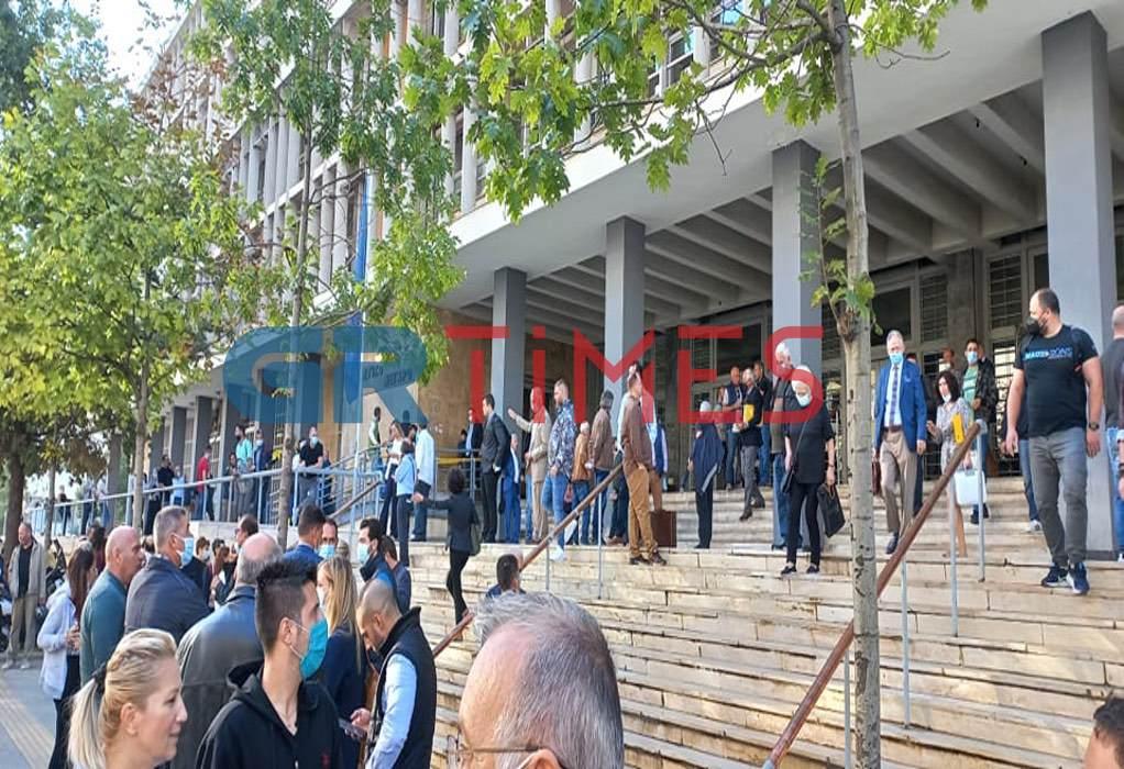 Φάρσα το τηλεφώνημα για βόμβα στα δικαστήρια Θεσσαλονίκης – ΒΙΝΤΕΟ