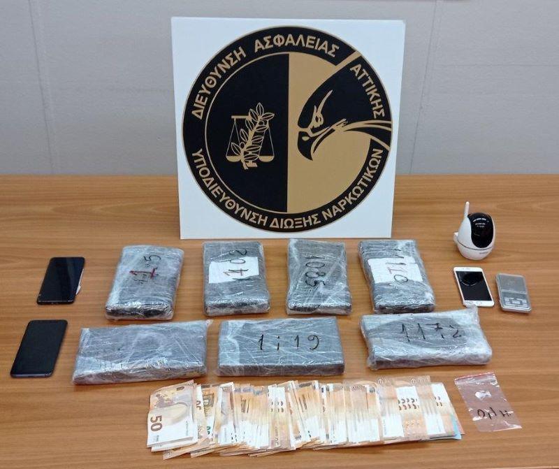 Νέα Σμύρνη: Συνελήφθη παίκτρια γνωστού ριάλιτι με 7 κιλά κοκαΐνης