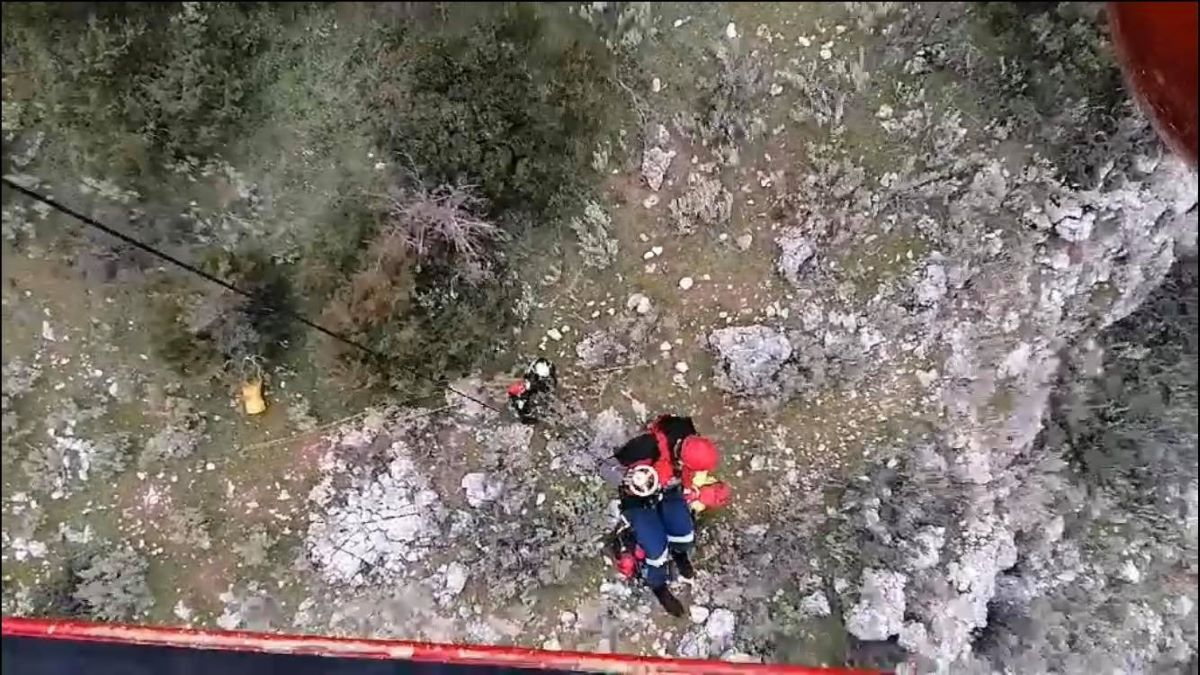Όλυμπος: Νεκρός εντοπίστηκε ο ορειβάτης που είχε πέσει σε χαράδρα