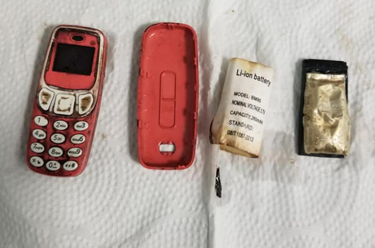 Κρατούμενος κατάπιε κινητό- Οι γιατροί του το έβγαλαν σε τρία κομμάτια
