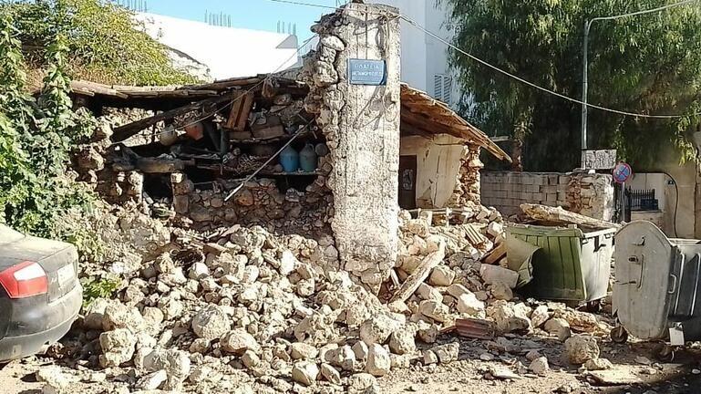Ανακοινώθηκαν τα μέτρα για τους σεισμόπληκτους στην Κρήτη