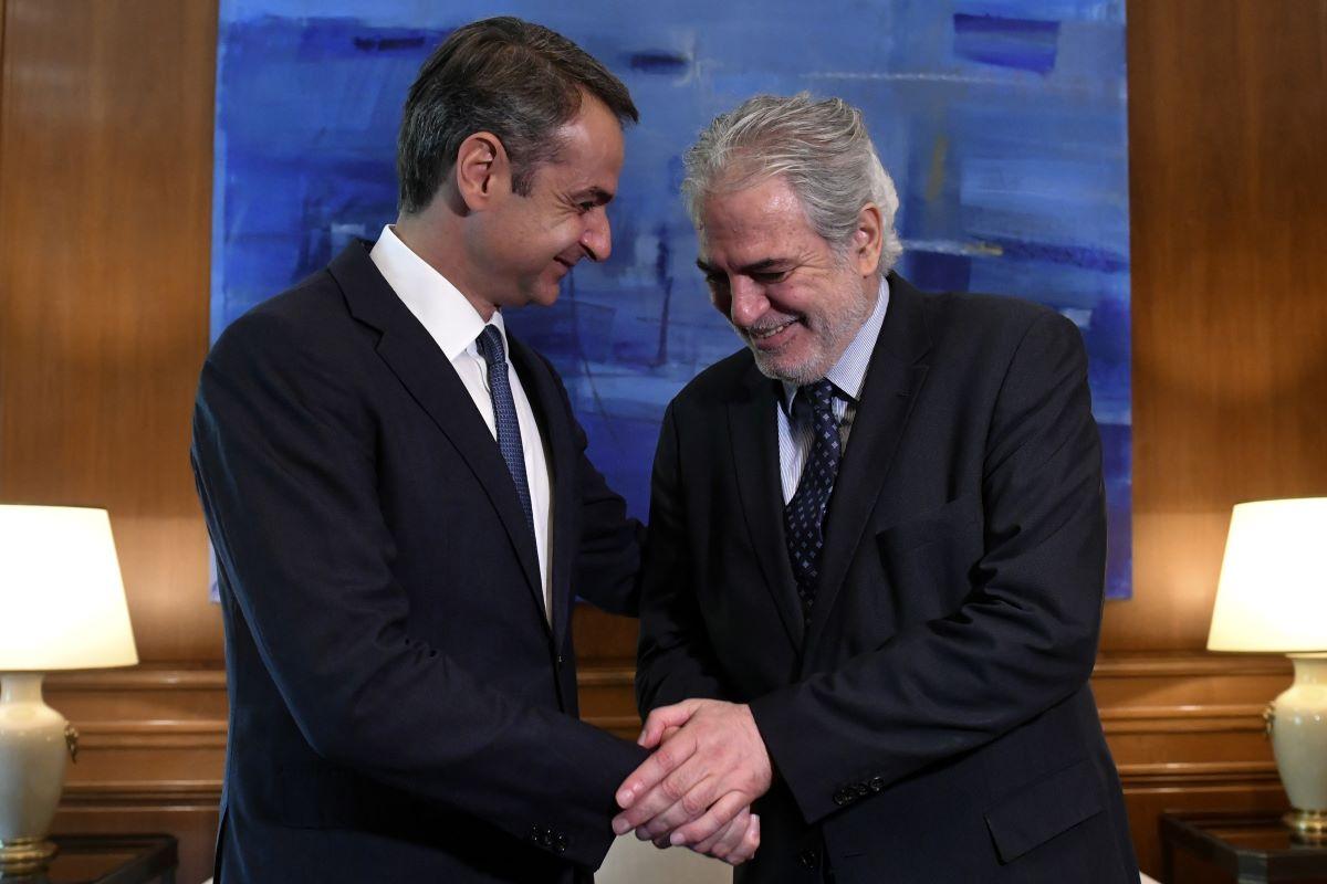 H πρώτη δήλωση Στυλιανίδη: Αποδέχθηκα την πρόταση Μητσοτάκη με πλήρη συναίσθηση των προκλήσεων και προσδοκιών