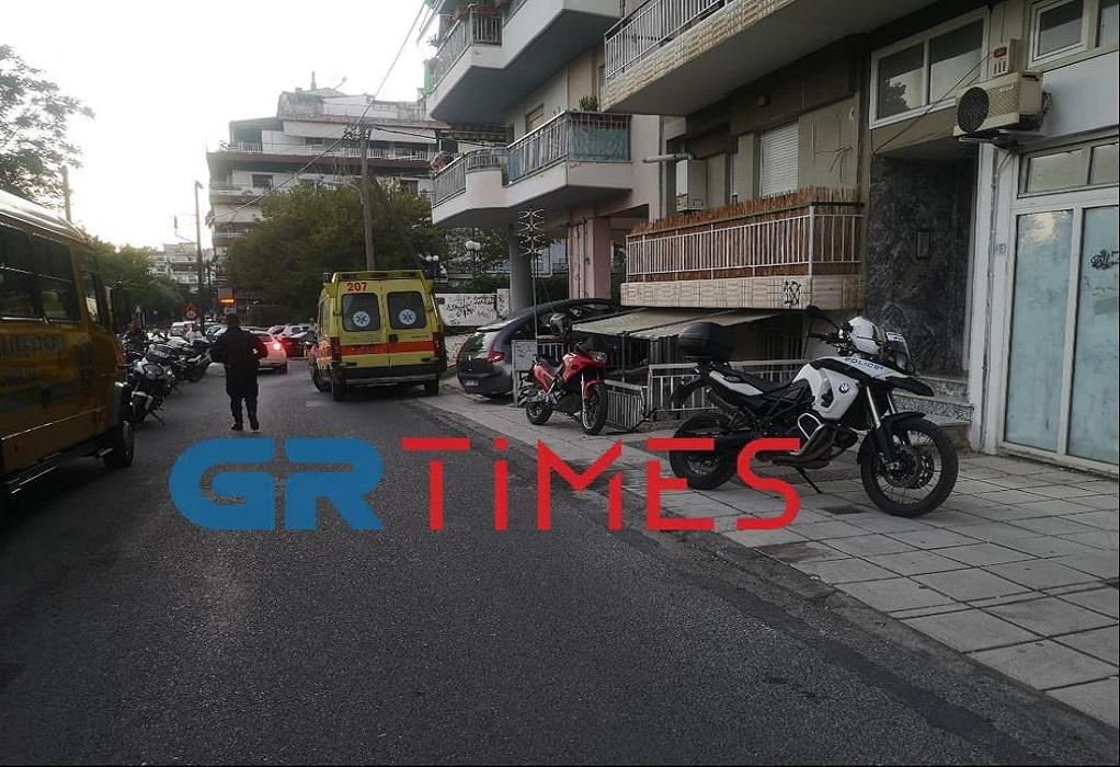 Θεσσαλονίκη: Αιματηρό επεισόδιο στην Τριανδρία - ΒΙΝΤΕΟ