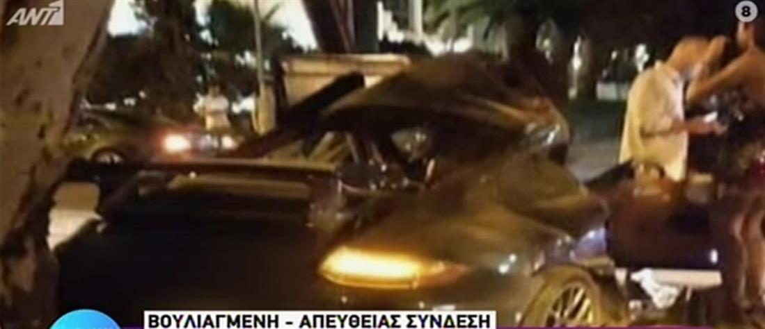 Mad Clip: Νεκρός σε τροχαίο-Άμορφη μάζα έγινε η Porsche που οδηγούσε
