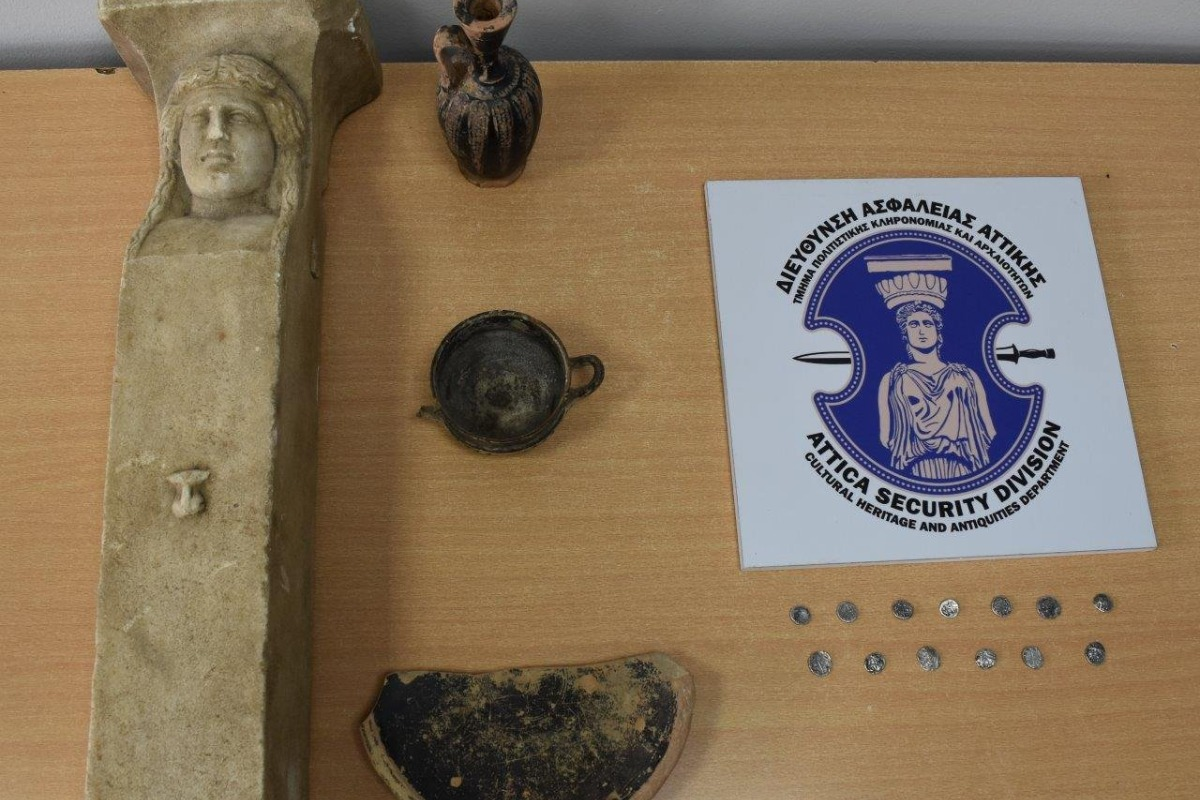 Συνελήφθησαν αρχαιοκάπηλοι στην Ηλεία – Θα πωλούσαν σημαντικές αρχαιότητες έναντι 170.000 ευρώ – ΦΩΤΟ