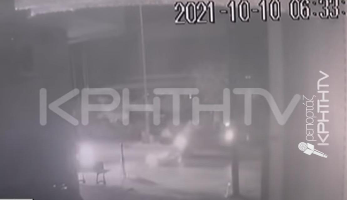 Τροχαίο σοκ στην Κρήτη: Αυτοκίνητο παρέσυρε ποδηλάτισσα – Την εγκατέλειψε ο οδηγός – ΒΙΝΤΕΟ