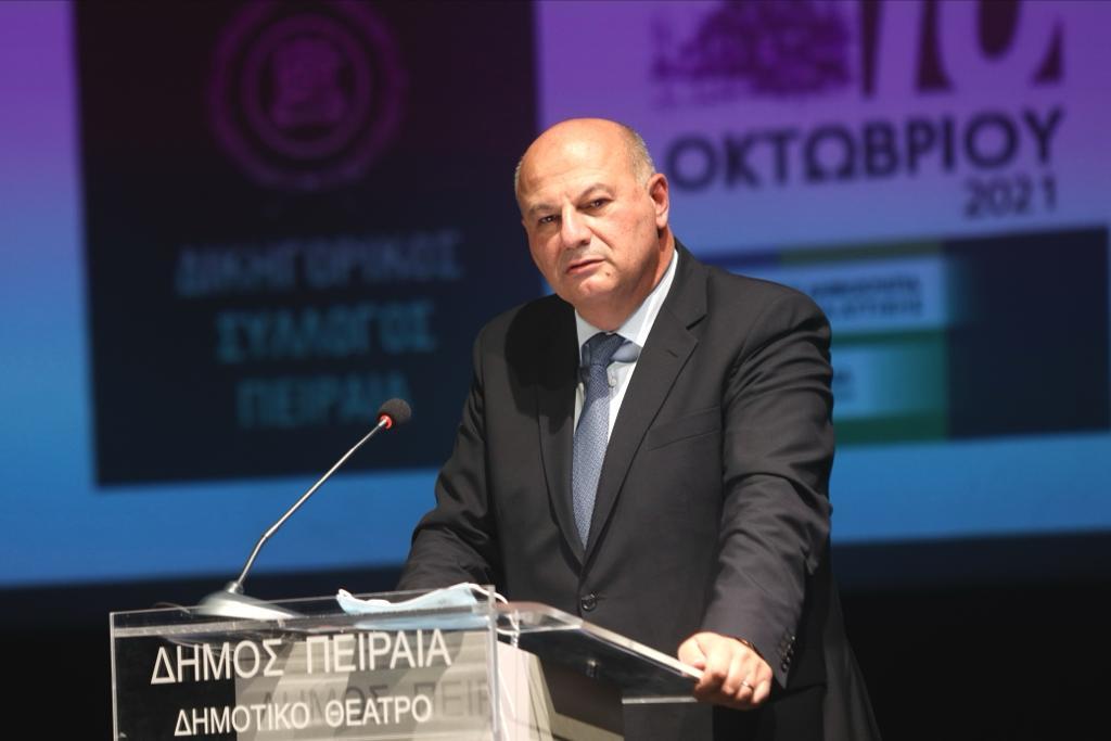 Κ. Τσιάρας: Μεταφέρονται τα δικαστήρια Πειραιά σε σύγχρονο κτίριο